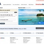 After an angry rant from blogger Dustin Curtis, American Airlines eventually redesigned it's website and set the standard for web design for the travel and hospitality industry