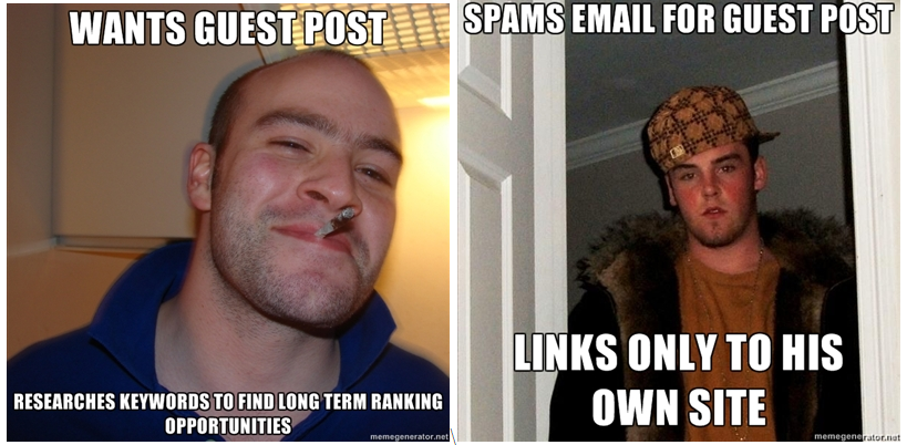 Good Guy Guest blogger